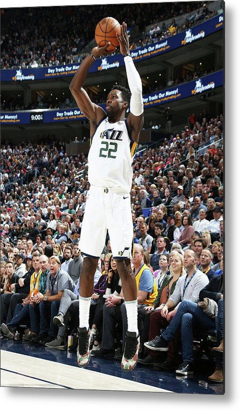 Nba Pro Basketball Metal Print featuring the photograph Jeff Green by Melissa Majchrzak