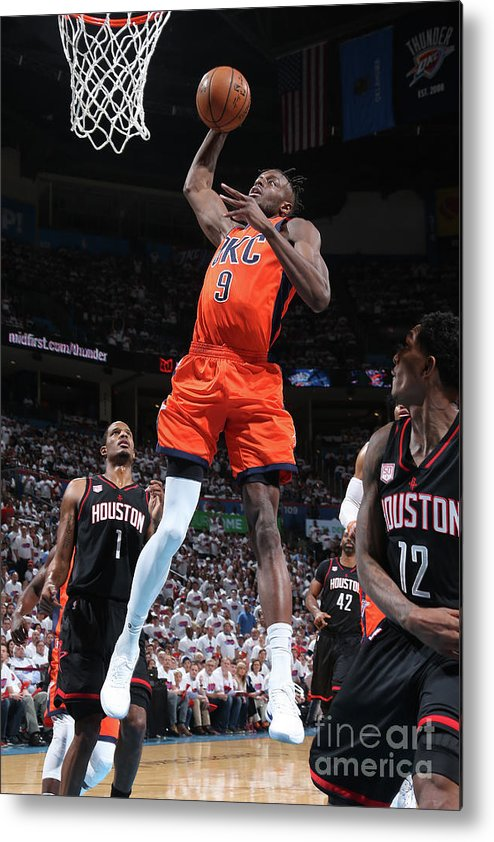 Playoffs Metal Print featuring the photograph Jerami Grant by Layne Murdoch