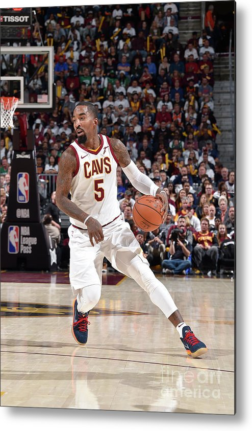 Nba Pro Basketball Metal Print featuring the photograph J.r. Smith by David Liam Kyle