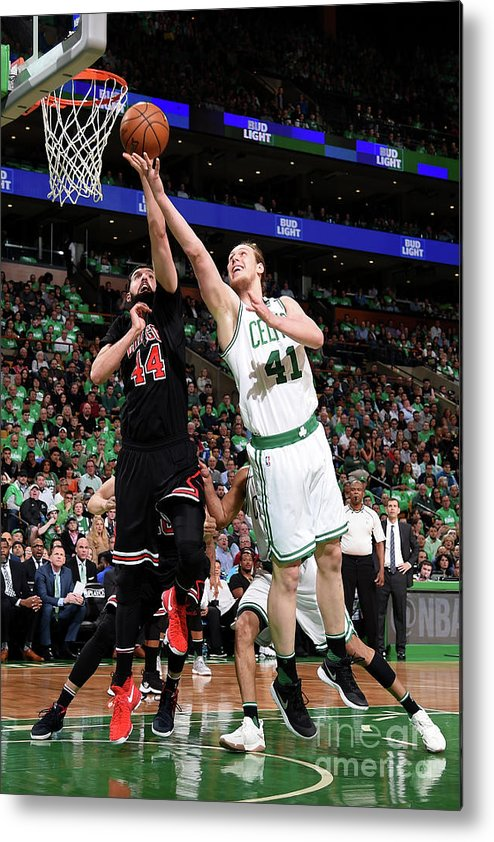 Playoffs Metal Print featuring the photograph Kelly Olynyk by Brian Babineau