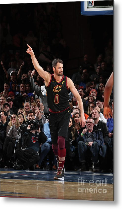 Nba Pro Basketball Metal Print featuring the photograph Kevin Love by Nathaniel S. Butler