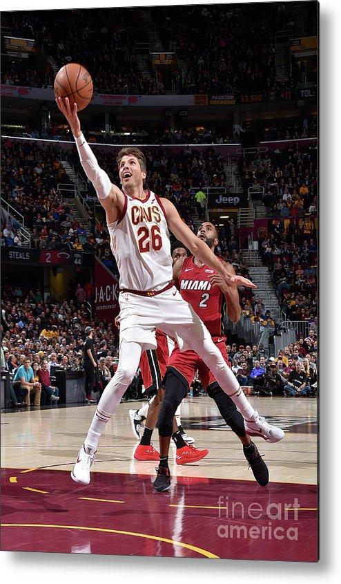 Nba Pro Basketball Metal Print featuring the photograph Kyle Korver by David Liam Kyle