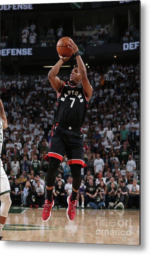 Playoffs Metal Print featuring the photograph Kyle Lowry by Gary Dineen