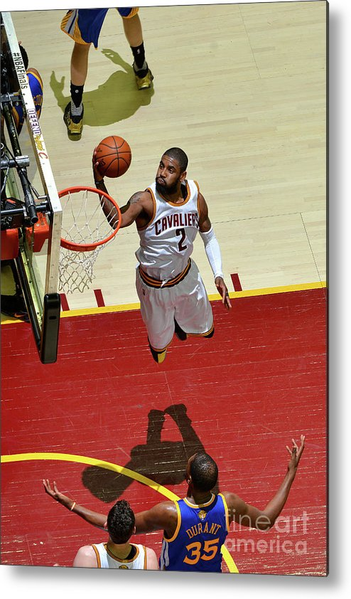 Playoffs Metal Print featuring the photograph Kyrie Irving by Jesse D. Garrabrant