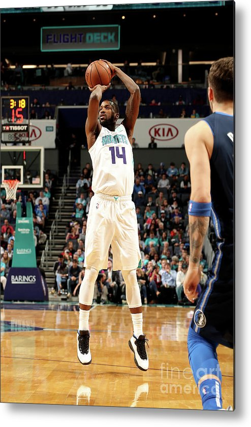 Nba Pro Basketball Metal Print featuring the photograph Michael Kidd-gilchrist by Brock Williams-smith