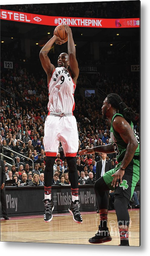 Nba Pro Basketball Metal Print featuring the photograph Serge Ibaka by Ron Turenne