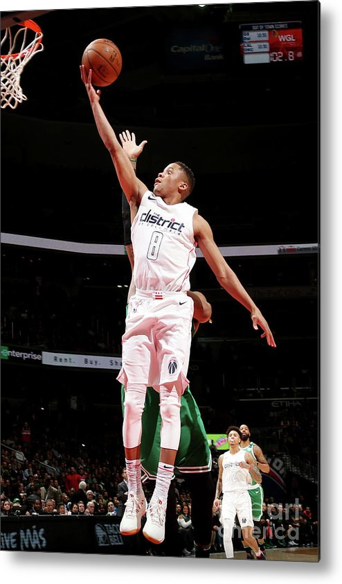 Nba Pro Basketball Metal Print featuring the photograph Tim Frazier by Ned Dishman