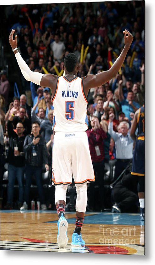Crowd Metal Print featuring the photograph Victor Oladipo by Layne Murdoch
