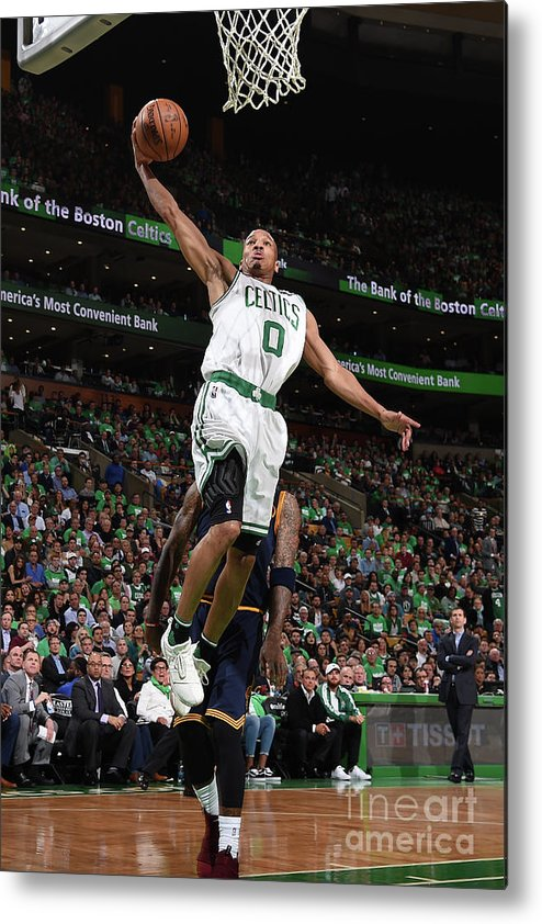 Playoffs Metal Print featuring the photograph Avery Bradley by Brian Babineau