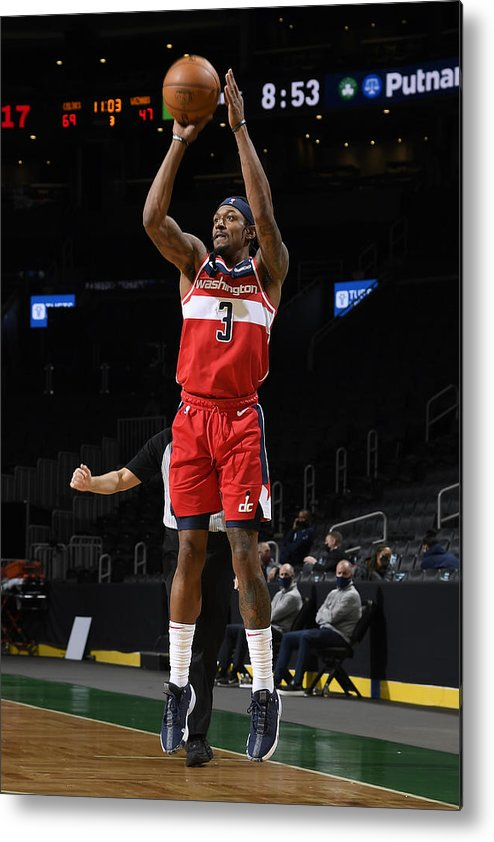 Nba Pro Basketball Metal Print featuring the photograph Bradley Beal by Brian Babineau