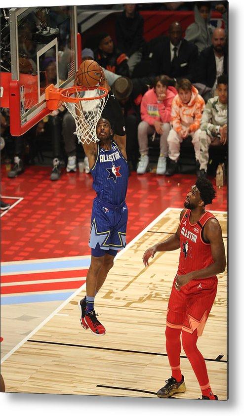 Nba Pro Basketball Metal Print featuring the photograph Chris Paul by Joe Murphy