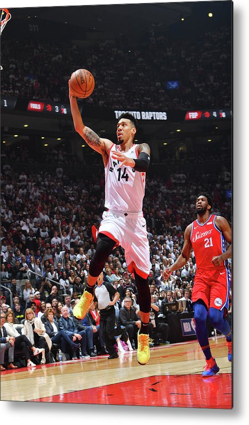 Playoffs Metal Print featuring the photograph Danny Green by Jesse D. Garrabrant