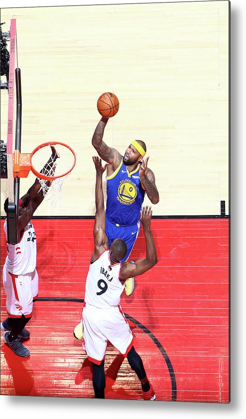 Playoffs Metal Print featuring the photograph Demarcus Cousins by Nathaniel S. Butler