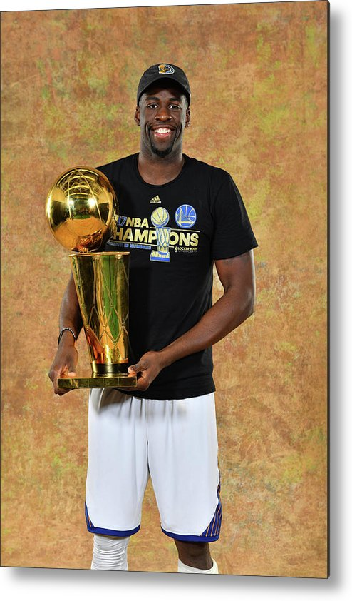 Playoffs Metal Print featuring the photograph Draymond Green by Jesse D. Garrabrant