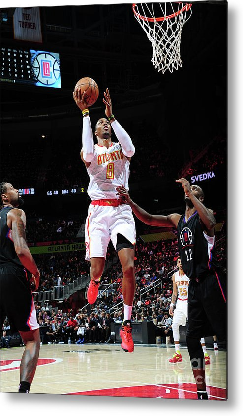 Atlanta Metal Print featuring the photograph Dwight Howard by Scott Cunningham