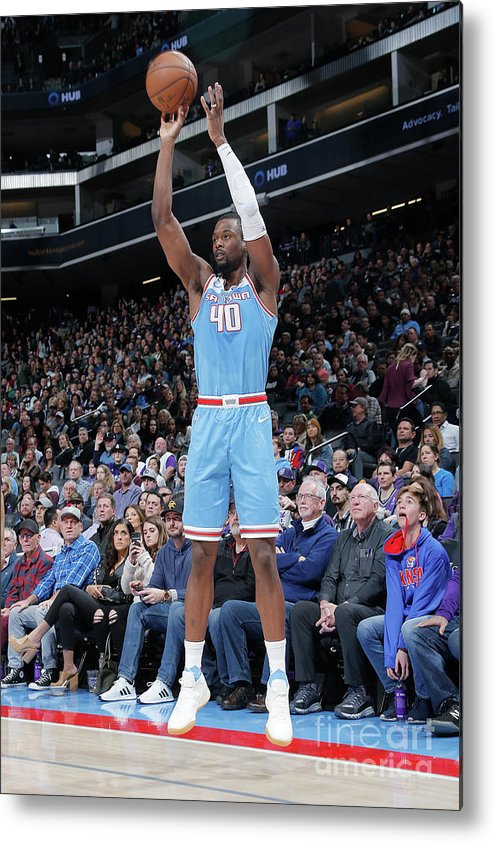 Nba Pro Basketball Metal Print featuring the photograph Harrison Barnes by Rocky Widner