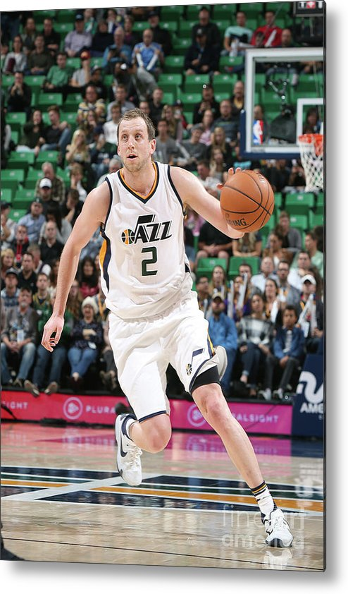 Nba Pro Basketball Metal Print featuring the photograph Joe Ingles by Melissa Majchrzak