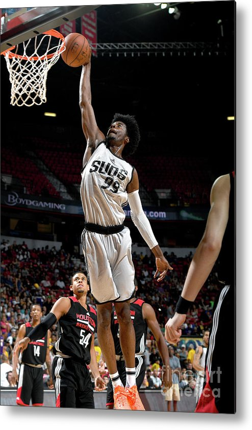 Nba Pro Basketball Metal Print featuring the photograph Josh Jackson by Garrett Ellwood