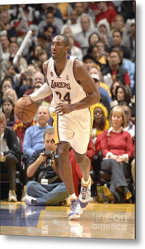 Nba Pro Basketball Metal Print featuring the photograph Kobe Bryant by Noah Graham
