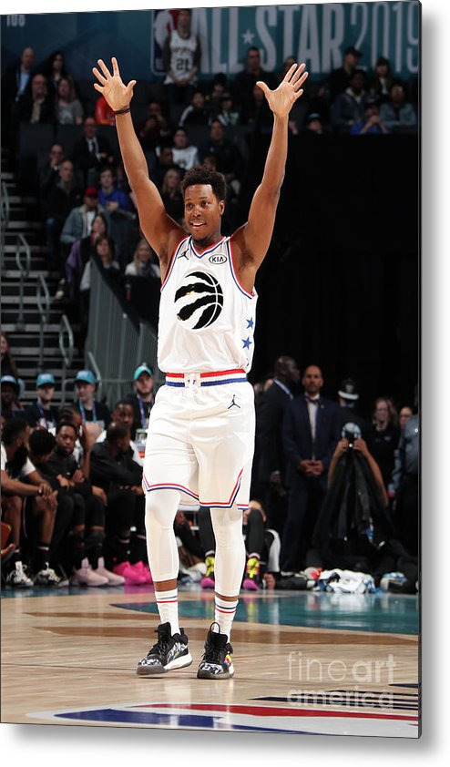 Nba Pro Basketball Metal Print featuring the photograph Kyle Lowry by Nathaniel S. Butler