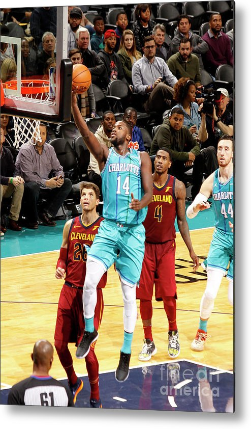 Nba Pro Basketball Metal Print featuring the photograph Michael Kidd-gilchrist by Kent Smith