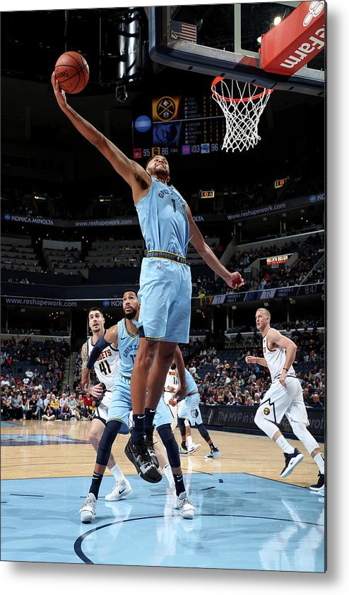 Nba Pro Basketball Metal Print featuring the photograph Kyle Anderson by Joe Murphy