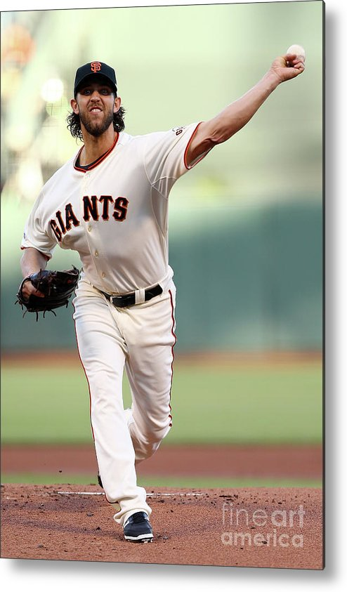 San Francisco Metal Print featuring the photograph Madison Bumgarner by Elsa