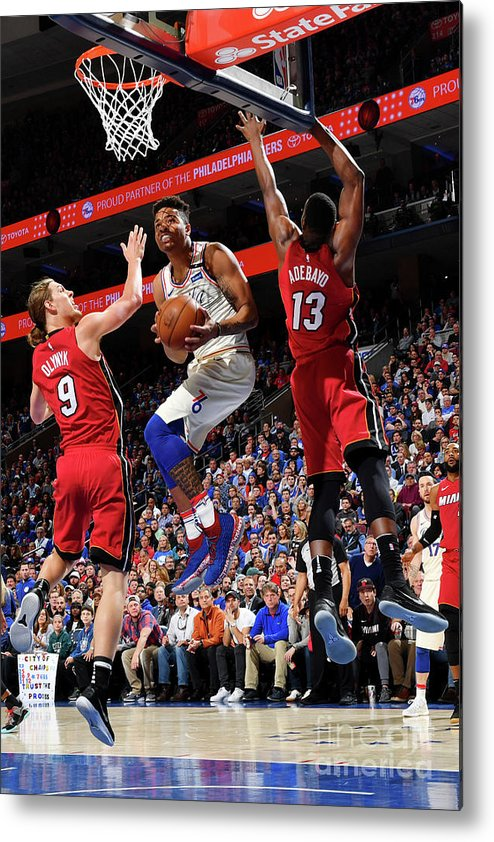 Playoffs Metal Print featuring the photograph Markelle Fultz by Jesse D. Garrabrant