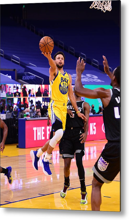 San Francisco Metal Print featuring the photograph Stephen Curry by Noah Graham