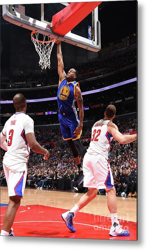 Nba Pro Basketball Metal Print featuring the photograph Andre Iguodala by Andrew D. Bernstein