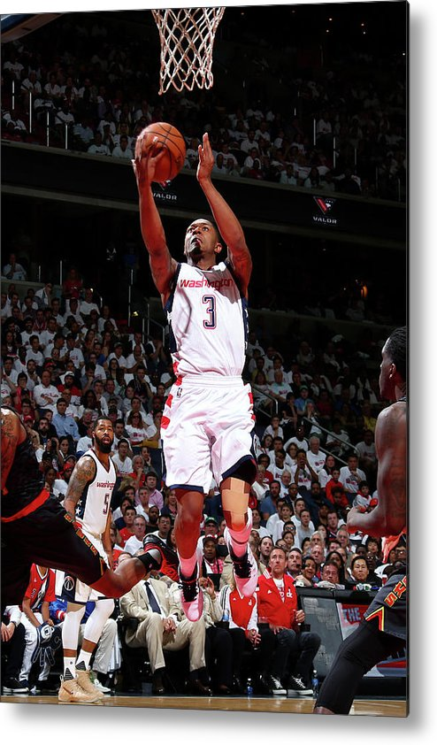 Playoffs Metal Print featuring the photograph Bradley Beal by Ned Dishman