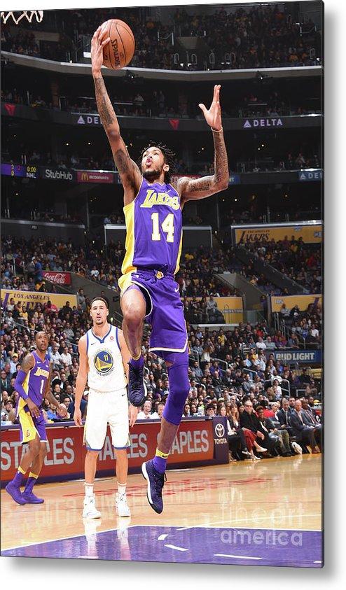 Nba Pro Basketball Metal Print featuring the photograph Brandon Ingram by Andrew D. Bernstein