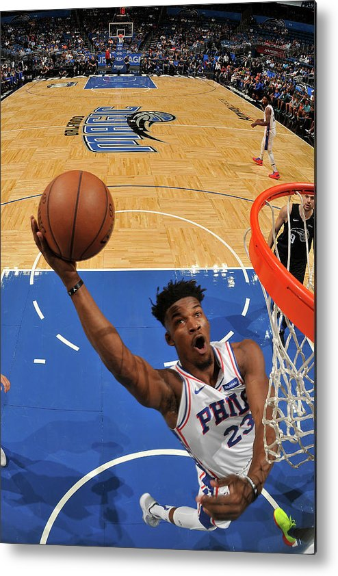 Nba Pro Basketball Metal Print featuring the photograph Jimmy Butler by Fernando Medina