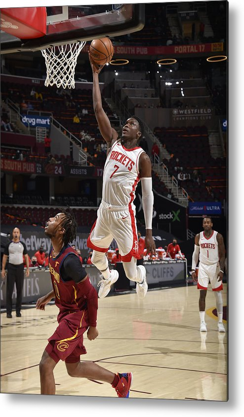 Nba Pro Basketball Metal Print featuring the photograph Victor Oladipo by David Liam Kyle