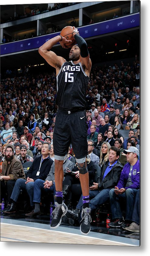 Nba Pro Basketball Metal Print featuring the photograph Vince Carter by Rocky Widner