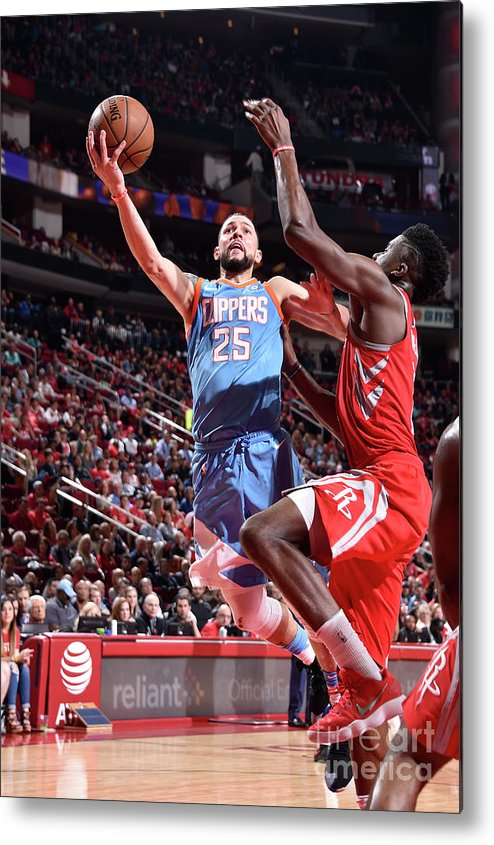 Nba Pro Basketball Metal Print featuring the photograph Austin Rivers by Bill Baptist