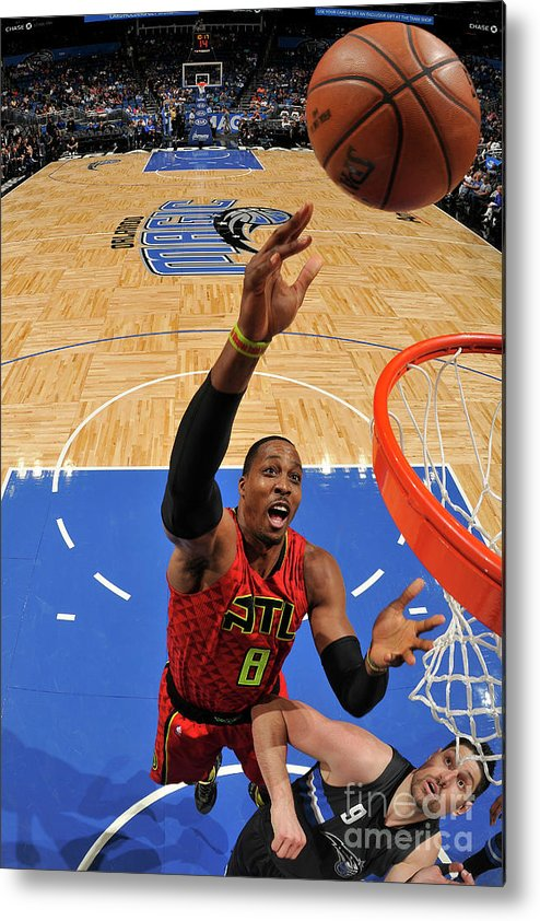 Nba Pro Basketball Metal Print featuring the photograph Dwight Howard by Fernando Medina