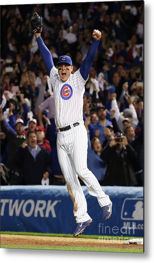People Metal Print featuring the photograph Anthony Rizzo by Jonathan Daniel