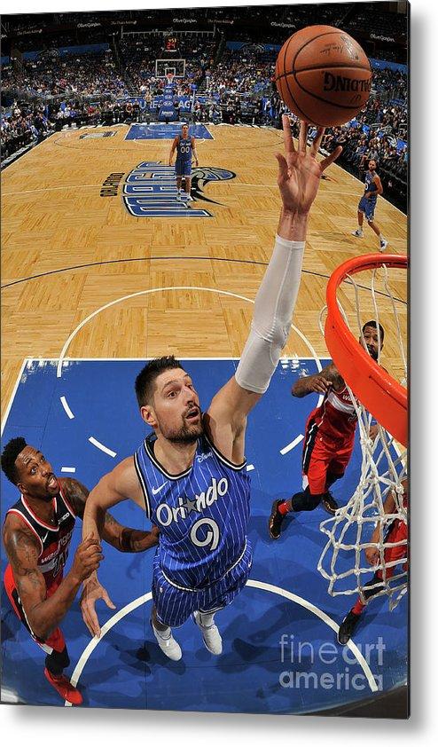 Nba Pro Basketball Metal Print featuring the photograph Dwight Howard by Fernando Medina