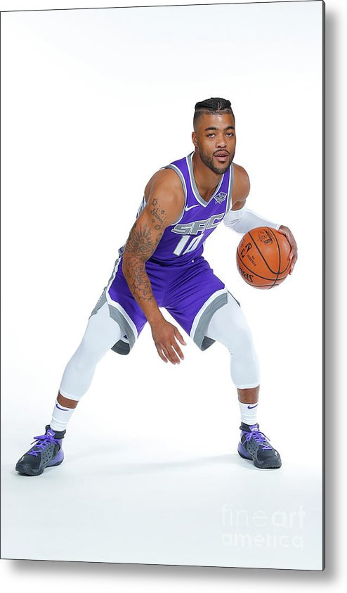Media Day Metal Print featuring the photograph Frank Mason by Rocky Widner