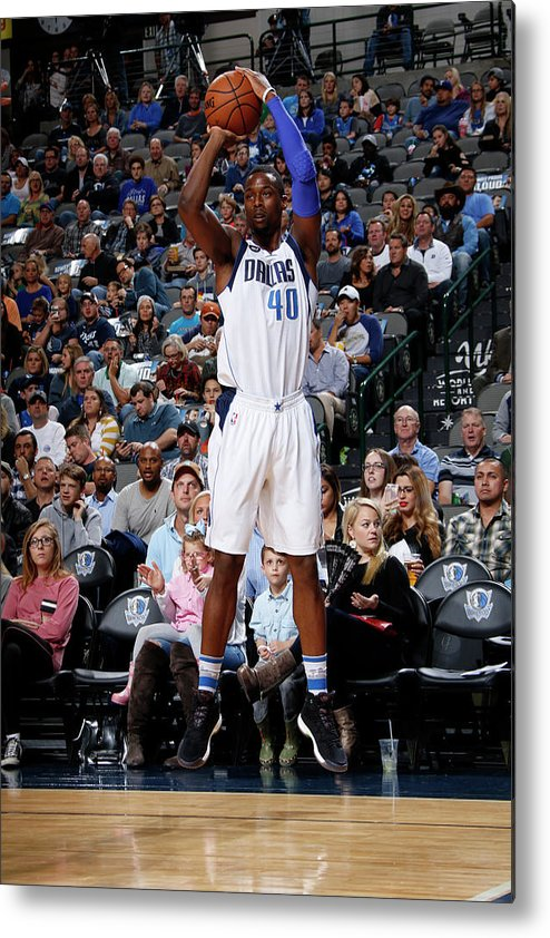 Nba Pro Basketball Metal Print featuring the photograph Harrison Barnes by Glenn James