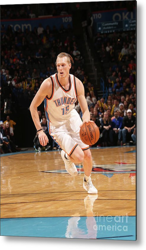 Nba Pro Basketball Metal Print featuring the photograph Kyle Singler by Layne Murdoch