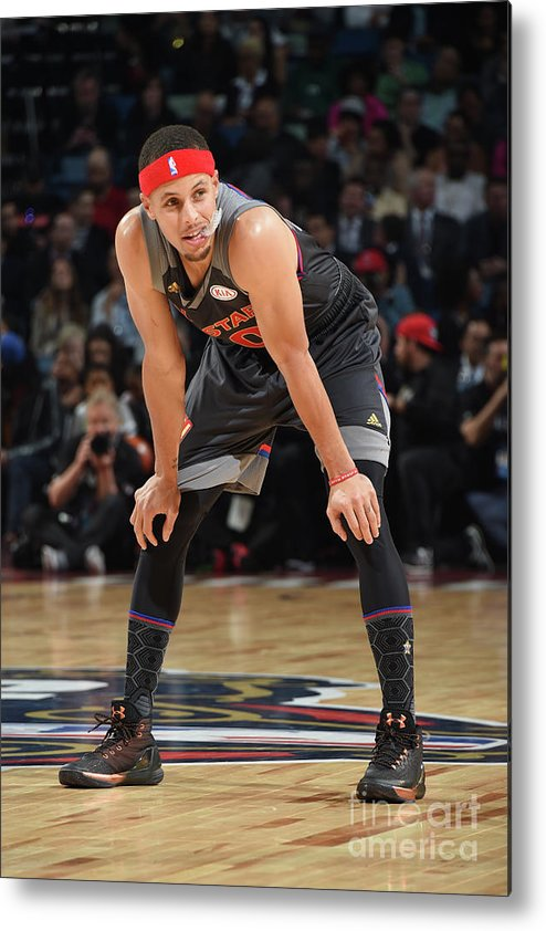 Event Metal Print featuring the photograph Stephen Curry by Andrew D. Bernstein