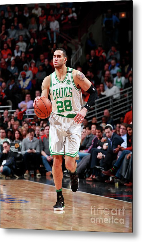 Nba Pro Basketball Metal Print featuring the photograph Abdel Nader by Jeff Haynes