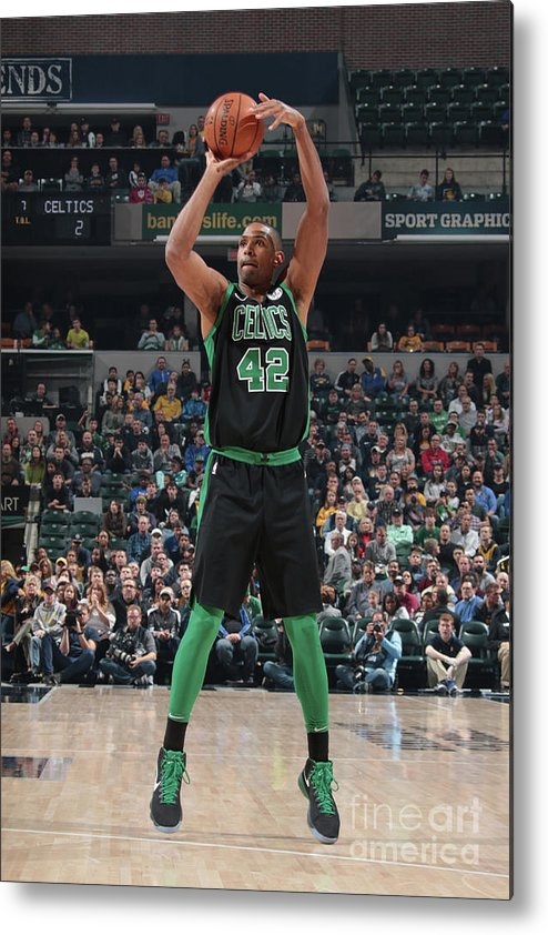 Nba Pro Basketball Metal Print featuring the photograph Al Horford by Ron Hoskins