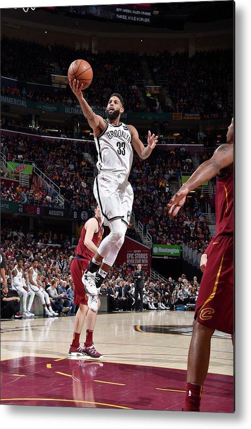 Nba Pro Basketball Metal Print featuring the photograph Allen Crabbe by David Liam Kyle