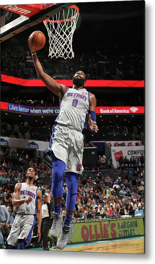 Nba Pro Basketball Metal Print featuring the photograph Andre Drummond by Kent Smith