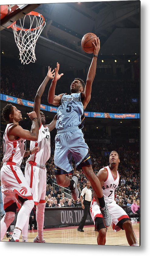 Nba Pro Basketball Metal Print featuring the photograph Andrew Harrison by Ron Turenne