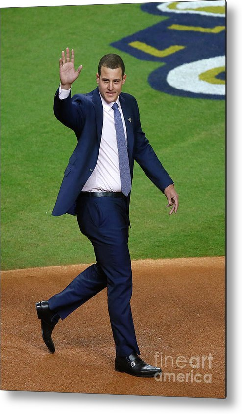People Metal Print featuring the photograph Anthony Rizzo by Bob Levey