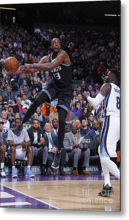 Nba Pro Basketball Metal Print featuring the photograph Anthony Tolliver by Rocky Widner